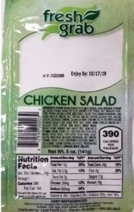 Listeria Lawyer- Fresh Grab Chicken Salad Listeria Recall